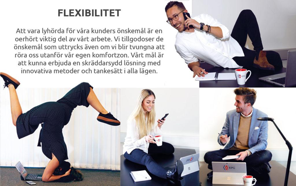 flexibilitet epg projektledning